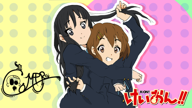 Mio-and-Yui by ComproEdits