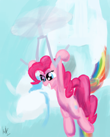 NATG2: Day 3 - Pinkie with a Prop(eller) by kittyhawk-contrail