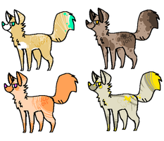 Canine Adopts 2 by LobsterAdopts