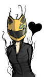 Celty Sketch by Chrissy743