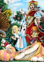 Mr. Jack's Alice Colored by Dracophile