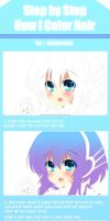 Hair Tutorial coloring by sonnyaws