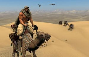 Guard of the desert-worlds (II) by Catweazle01