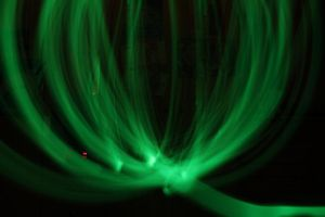 Lightpainting Green Bowl by YunakiDraw