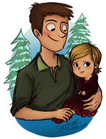 Philip And Emily by C0UGHDR0P