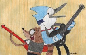 Mordecai and the Rigbys by Fab-912