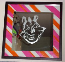 Evil Tony the Tiger Mirror by dragonslayer09