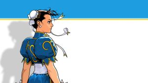 Simple Chun Li Wallpaper by Loki-Photo