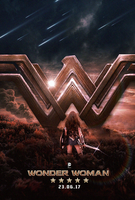 Wonder Woman Film Poster by MessyPandas