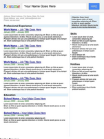 Creative Resume - Search Engine by rkaponm