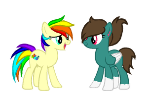 The Twins' Official Debut by Skittles91k
