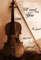 Fiddle, can you pray? by Caelea