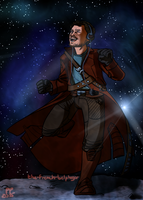 There's a starlord dancing in the sky by The-French-Belphegor