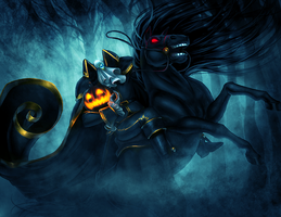 THE HEADLESS HORSEMAN by Pirate-Cashoo