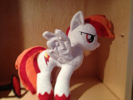 My OC Flamerunner Plushie pic 2 by XxFlamerunnerxX