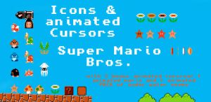 Super Mario Bros. Desktop Pack by Gerardknight