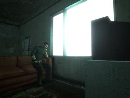 Sam Fisher in Room. by maxalate