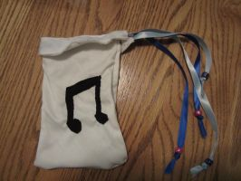 Vinyl Scratch Pouch by Alria3790