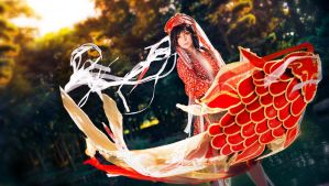 Adekan - Shiro Yoshiwara - Playing with the Wind by Midgard1612