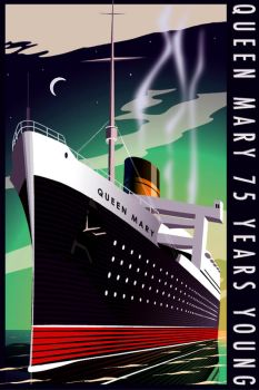 Queen Mary 2007 Art Deco by manhawk