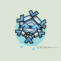#615: The Crystallizing Pokemon: Cryogonal