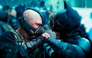 bane vs Batman 2012 by JACKAL998