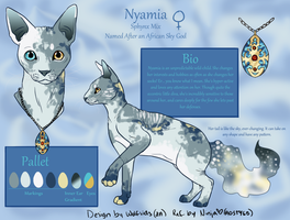 Nyamia - Char Revamp Commission by NinjasHeart