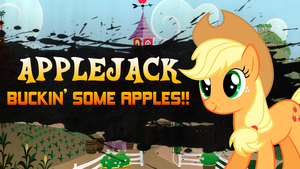 Super Smash Ponies New Challenger: Applejack by DashieMLPFiM