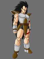 Raditz 2 By KingCrackRock by kingcrackrock