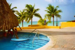 Cozumel - Pool by the Gulf by Bobcat79