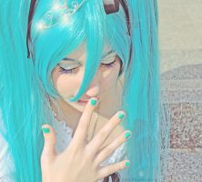 Hatsune Miku - Sweet Smile by Sora-Phantomhive