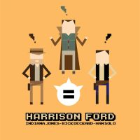 Sounds-Like Harrison Ford by mattcantdraw
