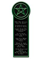 Wicca Bookmark by Dr-Ruth