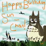 Happy B-Day, Sun-Chan by Vulpixtwo