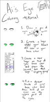 Eye coloring Tutorial by Ai-Nee