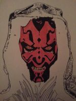 Darth Maul.. by ladyjart