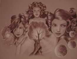 The Norns by SecretOfDragonflies