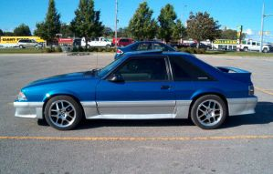 1990 Mustang GT by Ripplin