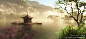 Floating Temple... by Vishw
