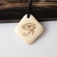 Eye of Horus. Scrimshaw. Corian by BDSart