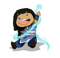 Lil' Water Bender by BlackDiamond13