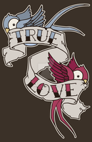 True Love Birds by nonstudiosdotcom