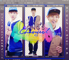 .+ Pack PNG Chanyeol by USucks