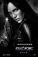 Sienna Miller Baroness Movie Poster by The-Mind-Controller