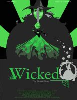 Wicked Movie Poster by lily-katt