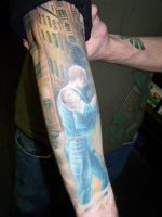 Resident Evil Leon Tattoo 1 by Aikido456