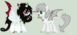 Artsy Drop and Arctic Fluff (My Part of Collab) by TFAfangirl14