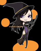 Halloween Witch by Hebi-no-Majo