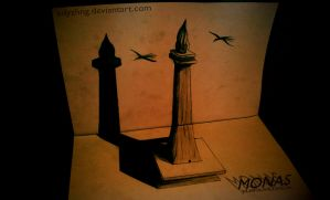 3D Drawing - Monas_Indonesia by EdyZhng