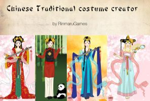 Chinese costume creator by Rinmaru